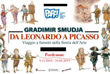 Gradimir Smudja. Da Leonardo a Picasso, viaggio a fumetti nella Storia dell'Arte