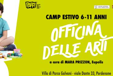 OFFICINA DELLE ARTI – CORSO KIDS ESTIVI AL PAFF!